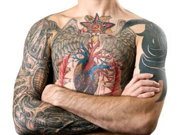 Military and Police Policy on Tattoos, Army, Navy, Air Force, Marine